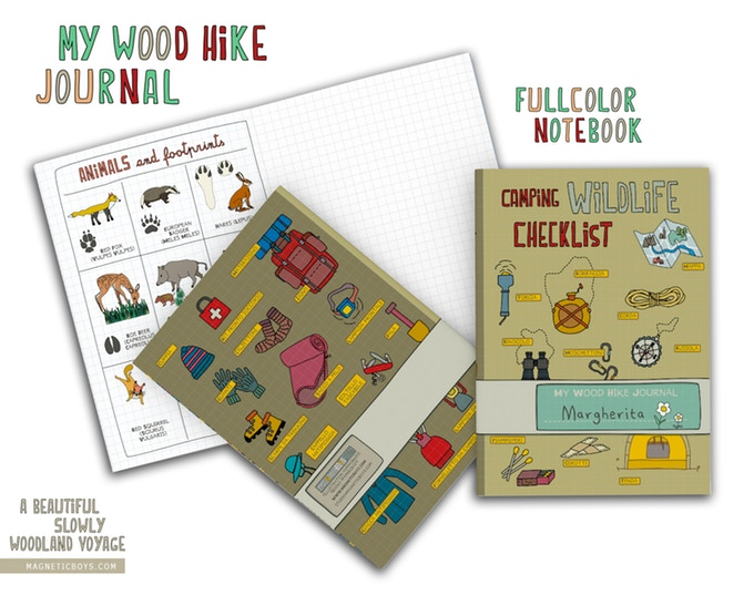 A beautiful slowly woodland voyage by magneticboys.com My Wood Hike Journal