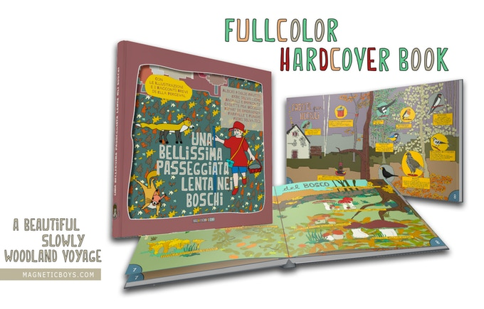 A beautiful slowly woodland voyage by magneticboys.com Picturebook