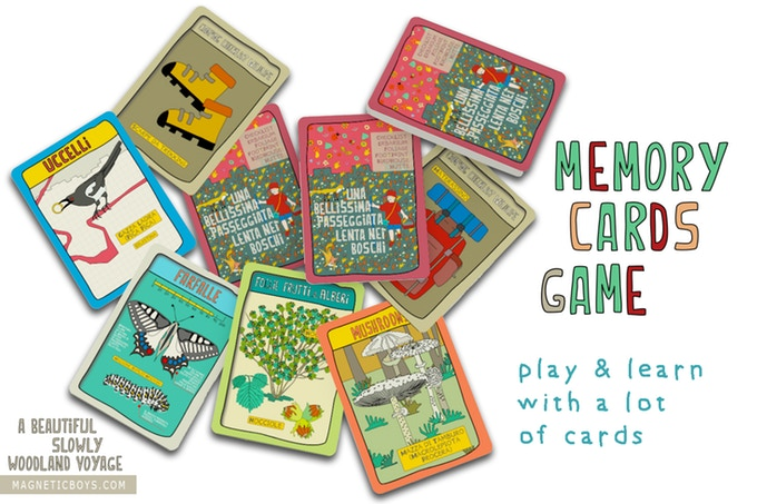 A beautiful slowly woodland voyage by magneticboys.com Memory Cards Game